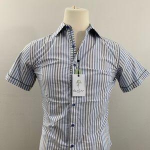Robert Graham Mens Size Small Short Sleeve Shirt